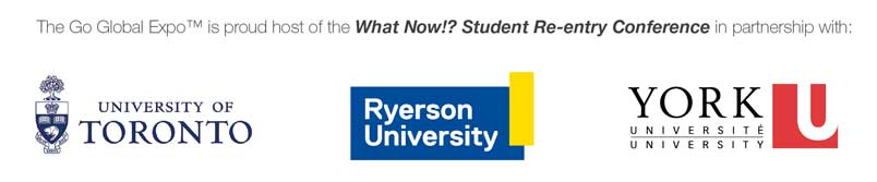 What Now Re-Entry conference - Ryerson, York and University of Toronto